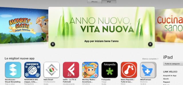 iMieiFarmaci inserita tra le migliori App da Apple nella categoria iPad